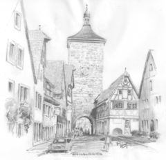 The Tower of Klingen Gate