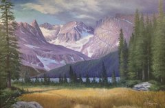 Indian Peaks Wilderness 24x36