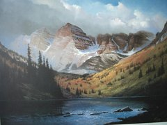 North Maroon Peak - print