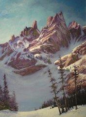 Glacial Spires 16x12