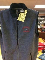 Gray Vest / NO - Sleeveless Fleece