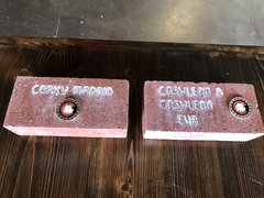 "Centennial ""Supporter "" Commemorative Brick"