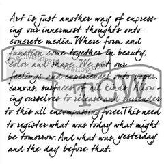 Stencil Art Expression 6x6