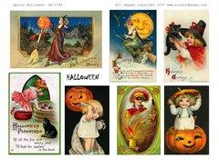 1346 Spooky Halloween PRINTABLE
