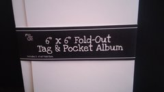 Pocket Album with Tags