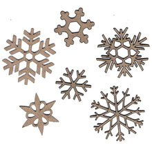 Chipboard Snowflakes