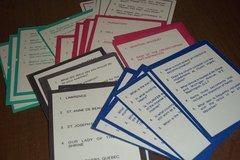 Religious Trivia cards