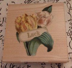 Anna Griffin LUCK Stamp  ca