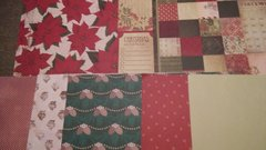 Christmas Paper Pack red and green