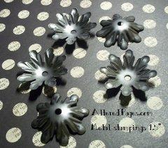 Metal Stamping, cup flower