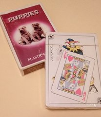 Puppy Playing cards, NEW