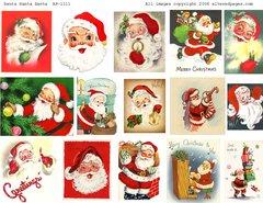 1111 Santa Santa Santa digital
