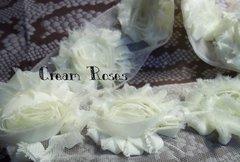 Shabby Roses (3) Cream