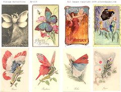 219 Butterfly Fairies Printable