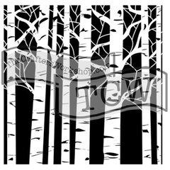Stencil Aspens 6x6