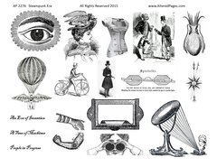 2276 Steampunk Era Printable