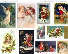 1155 Holiday Postcards digital