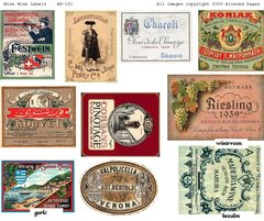 131 More Wine Labels digital