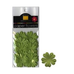 Paper Flowers parrot green