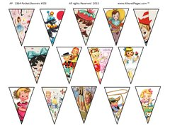 Pocket Banners Kids digital 2365