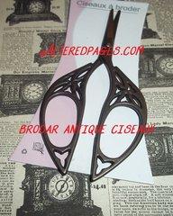 Ciseaux Broder Antique