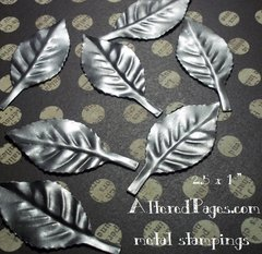 Metal Stampings Leaf small