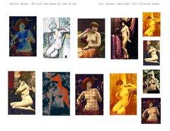 1168 Artful Nudes Printable