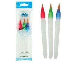 Aqua-Flo Water Brushes - Royal