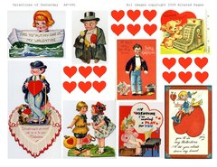 691 Valentines of Yesterday Printable