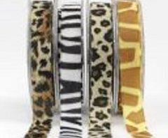 Wild Animal Ribbons (1 yd)