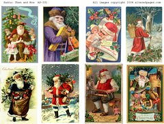 331 Santa Then and Now digital