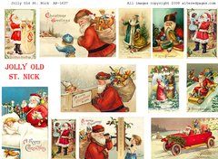 1637 Jolly Old St Nick  digital