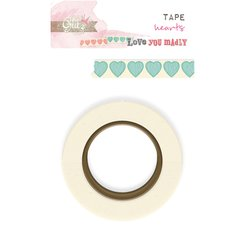 Washi Tapes blue hearts