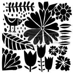 Stencil Dutch Spring 6x6