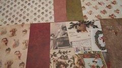 Holiday Paper Pack Bells, Blossoms, Santa