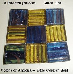 Glass Tiles 1 inch