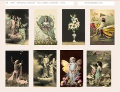 3046 butterfly Fairies Prtinable