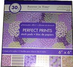 6x6 Lavender Mist Paper Pad