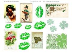 3049 An Irish Smile Printable