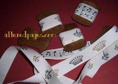 Spooled ribbons