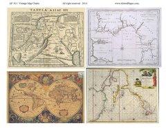 811 Vintage Map Charts Printable