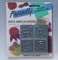 Embossing Squares for clay or metal