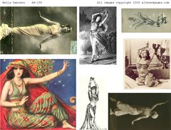 136 Belly Dancers Printable