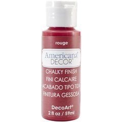Chalk Paints 2 oz. rouge red