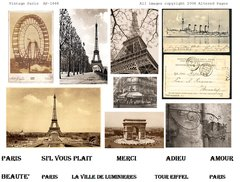1464 Vintage Paris Printable