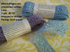 Crocheted Cotton Lace