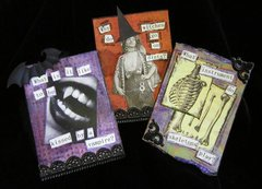Halloween ATCs or Pocket Page
