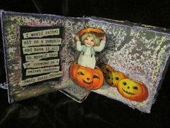 Halloween Popup Book or Cards - Trisha
