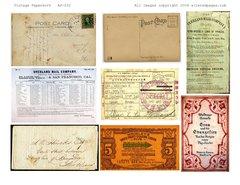 232 Vintage Paperwork