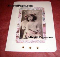 Christmas Angel CARD kit